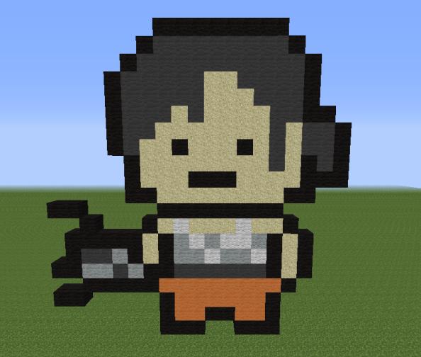 Minecraft Vidéo Pixel Art n°190