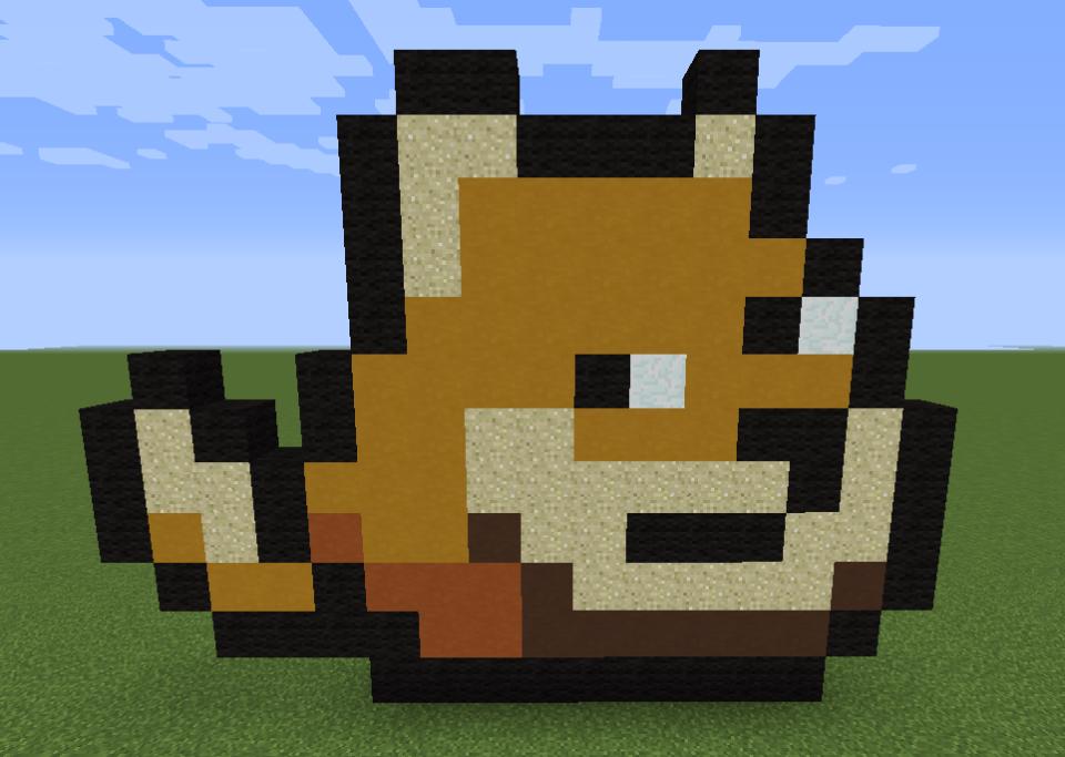 Minecraft Vidéo Pixel Art n°213