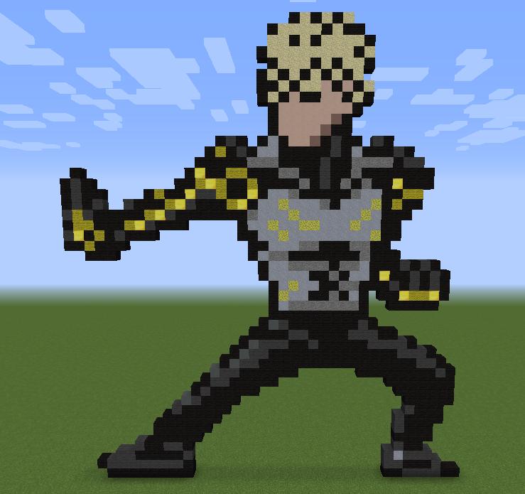 Minecraft Vidéo Pixel Art n°243