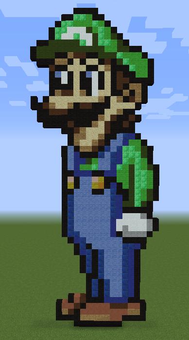 Minecraft Vidéo Pixel Art n°249