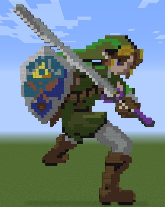 Minecraft Vidéo Pixel Art n°269
